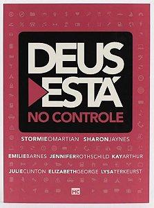 DEUS ESTÁ NO CONTROLE ROSA EDIÇÃO BOLSO