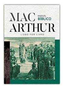 MANUAL BÍBLICO MACARTHUR ED EXCLUSIVA