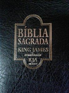 BÍBLIA KING JAMES ATUALIZADA LUXO PRETA