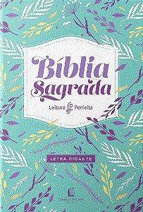 BÍBLIA NVI LEITURA PERFEITA LETRA GIGANTE LILÁS