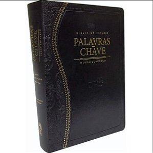 BÍBLIA DE ESTUDO PALAVRAS-CHAVE PRETA RC