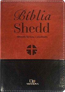 BÍBLIA SHEDD - MARROM E PRETO