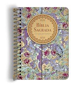 BIBLIA NVI ANOTE ESPIRAL CÁLAMO E CANELA