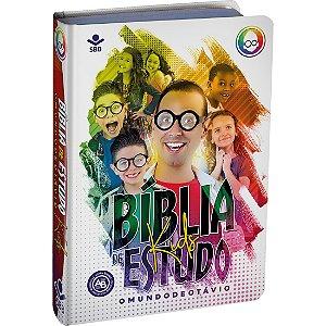BÍBLIA DE ESTUDO KIDS O MUNDO DE OTÁVIO