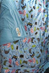 Cobertor Ponderado Artesanal MALHA - M - 1,8M X 1,4M - Frete Grátis