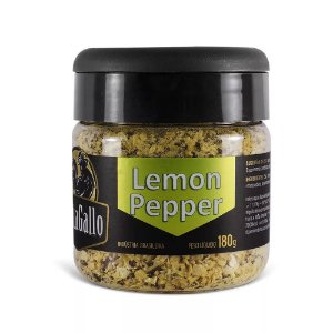 Tempero Lemon Pepper - Cantagallo 180g