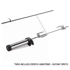 Haste Central Longa 70 cm - Espeto Giratório Rotary Speto