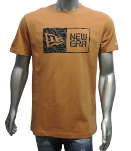 9bc6d0bfb6459 Camiseta Masculina New Era Branded Military Laranja