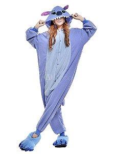 Stitch Disney Pijama Kigurumi Fantasia - Adulto