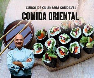Aula Presencial Santo André - Comida Oriental Vegana - 15/Nov