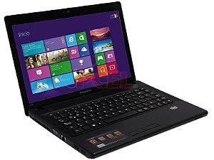"""Notebook usado, Lenovo G485, AMD C-70, 1.00GHz, 4GB, HD500GB, 14"""", Leitor CD/DVD, Win 10, Bateria boa!"""