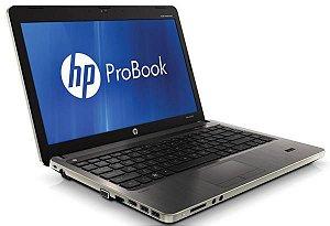 """Notebook usado, HP Probook 4430s, Core i3 2.20GHz, 4GB, HD500GB, 14"""", Leitor CD/DVD, Win 10 Pro, Bateria não segura carga!"""