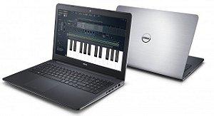 "Notebook usado, Dell Inspiron 5547, i7-4510U, 2.00-260GHz, 8GB, HD 1TERA, 15.6"" Full HD, Touchscreen, Win10, Bateria 1 segura 1hora."