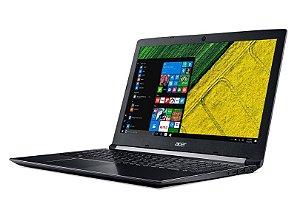 """Notebook usado, Acer Aspire A515-51, i5-7200U, 2.50-2.71GHz, 8GB, HD 500GB, 15.6"""", Windows 10, Bateria perfeita!"""