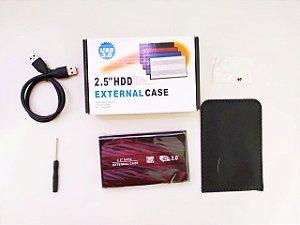 CASE PARA HD EXTERNO USB 3.0 - CASE PARA HD DE NOTEBOOK