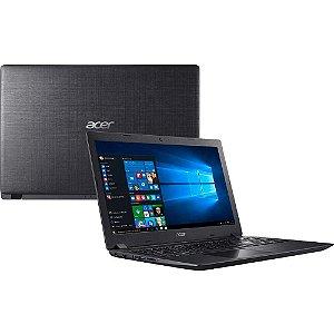 "Notebook Acer Aspire A315-51 Intel Core i3-8130U 2.2Ghz 4Gb SSD 240Gb 15.6"" WIFI WEBCAM WIN10 HOME - NOVO DE VITRINE"