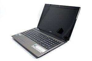 Notebook Acer Aspire 5750-6606 Core i3-2.10GHz 4Gb ram HD 640Gb DVD-RW Wi-fi Webcam HDMI Win 10Home