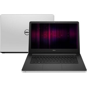 Notebook Gamer Dell Inspiron 14-5458 Intel Core i5-2.2GHz 8Gb de ram HD 1 tera DVD-RW Wi-fi Webcam HDMI 2Gb vídeo Win 10 Home