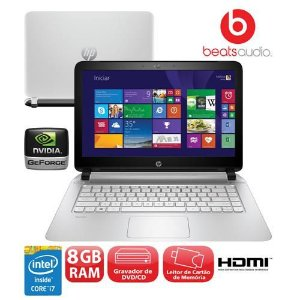 Notebook Gamer HP Core i7 2.0/2.6GHz, 2gb vídeo Nvidia, 8Gb, HD 1tb, Dvd-rw, Wifi, Webcam, Hdmi, Win10