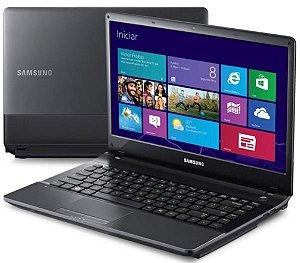 Notebook Usado Samsung NP300E4C, Intel core i5-3210M-2.5GHz, 4Gb-ram, HD500GB, DVD-RW, WiFi, Webcam, Win10, Bateria boa!