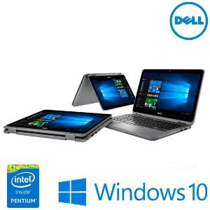 "Notebook usado Dell Inspiron 11-3168, 11.6"" Touch, Intel Pentium N3710 QuadCore 1.60GHz, 4Gb, HD 500gb, Wifi, Hdmi, Win10!"