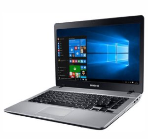 "Notebook Usado Samsung NP370E4K, i3-5005U-2.0GHz, 4GB, HD 1TB, Leitor CD/DVD, Webcam, 14"", Win10!"