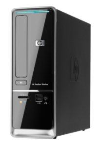 Computador, CPU, PC usado, HP Slimline s5650br, Core i3-3.20GHz, 4Gb, HD500Gb, Leitor de CD/DVD, Win10.