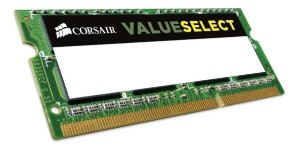 MEMÓRIA RAM NOTEBOOK, 4Gb, 1333MHz, DDR3, 1.5v, Corsair Valueselect