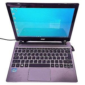 Notebook Usado, Acer, Aspire V5, i3, 4GB, HD500, Win10, Webcam, HDMI!