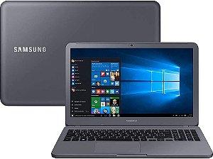 "Notebook usado, Samsung NP350XAA-KD1BR, Intel Core i5-8250U 1.60-1.80GHz, 8GB, HD1TB, 15.6"" LED HD, Win10, Bateria perfeita!"