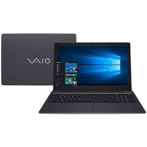 Notebook Vaio Fit 15s, i5-7200U 2.70GHz, 8GB, HD500GB, Wi-Fi, Webcam, Win10 Home, Bateria perfeita!
