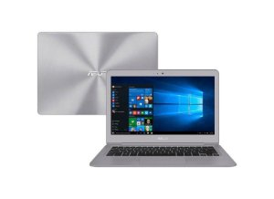 Notebook, Ultrabook Slim ASUS UX330UAK, i5-7200, 2.50-2.71GHz, 8GB, SSD256GB, Webcam, Fingerprint, Bateria perfeita, Win10, super leve, top de linha!