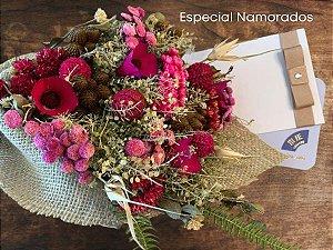 Especial Namorados Voucher Shiatsu 45' + Reflexologia 30' + Banho de Ofurô com Bouquet de Flores