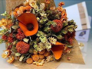 Kit Voucher Shiatsu 45' + Bouquet de Flores Saitama Tam P