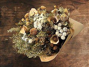Bouquet de Flores Variadas Secas Nude