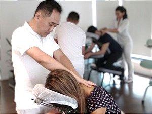 Quick Massage Para Empresas e Eventos Com 4 Profissionais