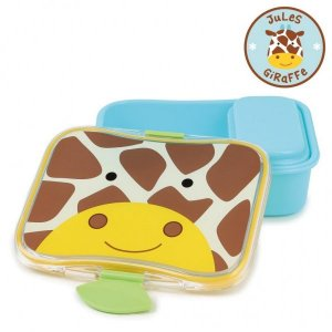 Kit Lanche Skip Hop Zoo Girafa