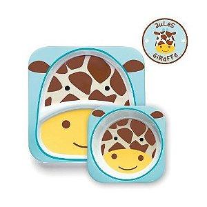 Kit Prato Skip Hop Zoo Girafa