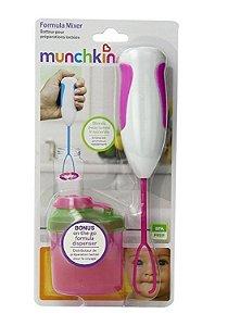 Mixer Com Porta Formula Munchkin Rosa