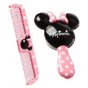 Kit Escova E Pente Disney Minnie