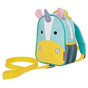 Mochila Com Guia De Segurança Skip Hop Zoo Unicornio