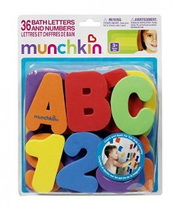 Kit Brinquedo Para Banho Munchkin Letras Divertidas
