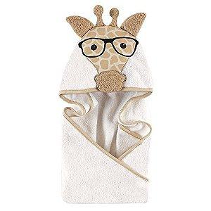 Toalha Hudson Baby Nerdy Girafa