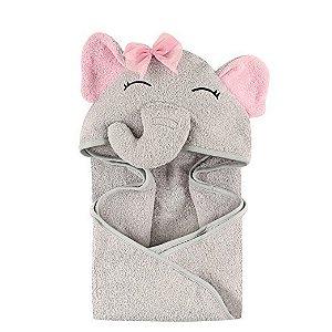 Toalha Hudson Baby Pretty Elefante