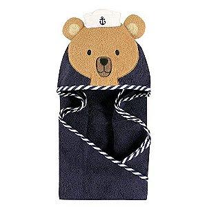 Toalha Hudson Baby Urso Marinheiro