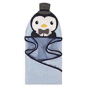 Toalha Hudson Baby Handsome Pinguim