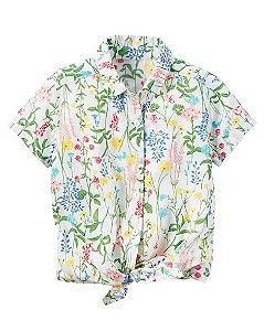 Camisa Carters Floral Tie