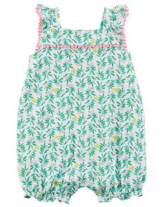 Romper Carte'rs Tropical Cotton