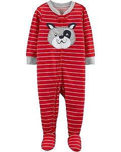 Pijama carters manga longa com pezinho  Carters Dog