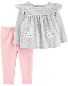 Conjunto carters - 2 peças - blusa e calça - Bunny